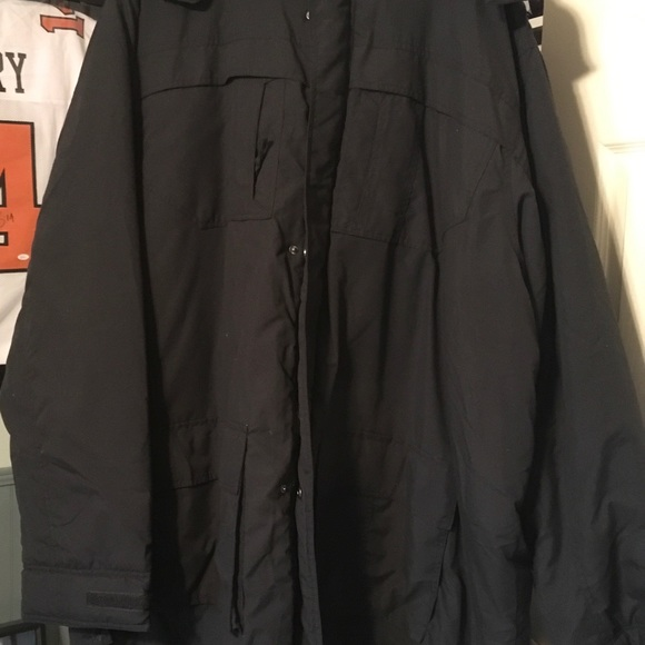 King Size Other - Big and Tall Mens Parka. Never Worn 4XLT Black
